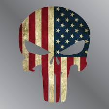Us Flag Decal Punisher American Flag Decal U2013 T U0026r Graphics
