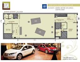 Event Floor Plans by Loft On Lake Corporate U0026 Social Events