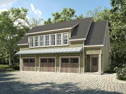 4 car garage plans with apartment above garage plan 58287 at familyhomeplans com