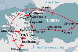 Ancient Greece Map Activity by Classical Turkey U0026 The Greek Islands Turkey Tours Peregrine