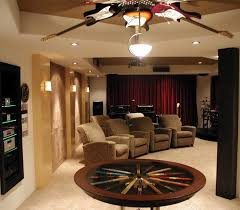 Wood Area Rugs Interior Gorgeous Home Theater Decoration Using Solid Oak Wood