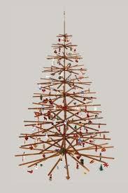 wooden christmas tree eco friendly alternatives for trees