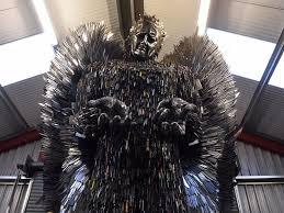 knife angel u0027 sculpture made out of 100 000 knives business insider
