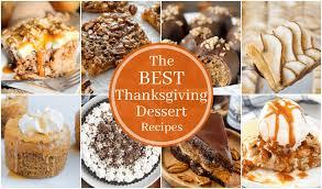 best thanksgiving dessert recipes that can bake