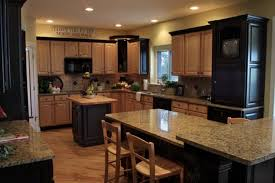 kitchen color ideas with oak cabinets and black appliances amazing modern kitchen with black appliances kitchens with
