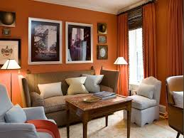 Curtain Color For Orange Walls Inspiration Jeffrey Bilhuber Orange Study Living Spaces Pinterest Living