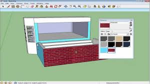 how to create materials in google sketchup youtube