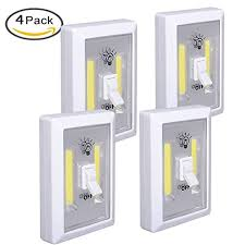 under cabinet light switch led night light under cabinet lighting 200 lumen cob led cordless