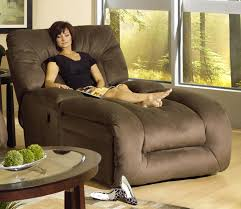 Oversized Chaise Lounge Furniture Brown Microfiber Chaise Lounge Chairs With Large Back