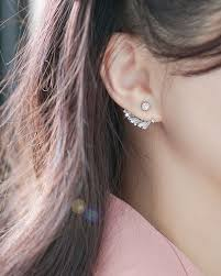 two way earrings angel two way earrings mirai lowe