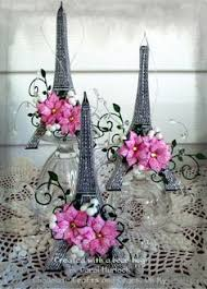 Paris Centerpieces Look At This Cute Paris Themed Baby Shower The Link Shows A Lot