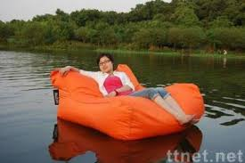 water proof outdoor floating bean bag sofa chair outdoor chair