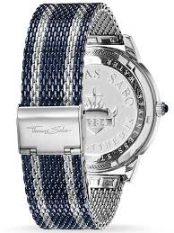 mesh bracelet watches images Thomas sabo mens rebel spirit mesh bracelet watch wa0268 281 209 42 mm jpg