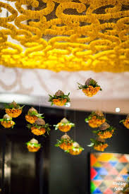 68 best sapthapathy welcome pathways images on pinterest floral hanging ceiling arrangements with suspended genda flowers indian wedding decorationsindian