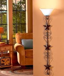 country star wall lamp primitive living room rustic kitchen