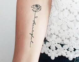 20 one word ideas for the minimalistic tattoos for