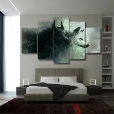 Schlafzimmer Yin Yang Yin Yang Wolves Nymeria U0026 Ghost Inspired 5 Piece Canvas