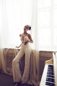 Wedding Dress Jumpsuit Say Yes To The Jumpsuit Aisle Perfect