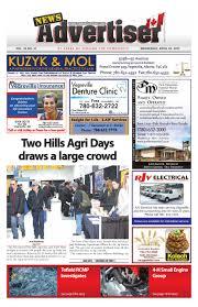 vegreville news advertiser april 26 2017 by the news advertiser