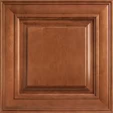 Home Depot Cognac Cabinets - american woodmark 14 9 16x14 1 2 in cabinet door sample in