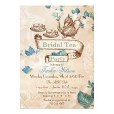 bridal tea party invitation bridal shower tea party invitations announcements zazzle
