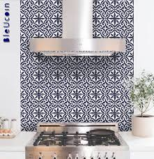 Sticker For Tiles Kitchen - tile wall decal moroccan tile sticker for kitchen bathroom