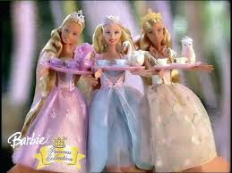 barbie princess collection tea party doll commercial