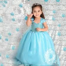 2017 movie frozen cinderella princess dress children halloween