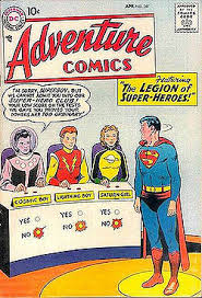 legion super heroes 1958 team