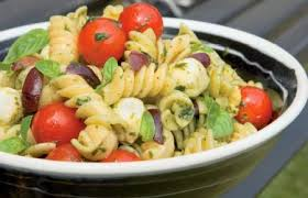 cold pasta salad dressing cold pasta salad with tomatoes bocconcini and basil dressing