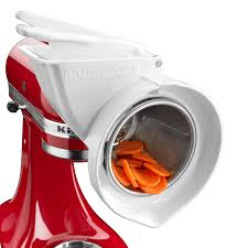 Kitchenaid Mixer Attachments Amazon by Amazon Com Kitchenaid Rvsa Slicer U0026 Shredder Attachment Mixer