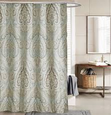 Paisley Shower Curtain Blue by Blue And Brown Curtains Cheap Sale Paisley Design Brown