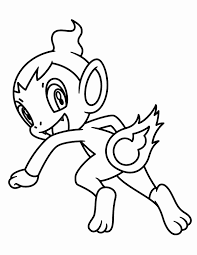 pokemon coloring pages misty chimchar coloring pages photos pokemon coloring pages chimchar and