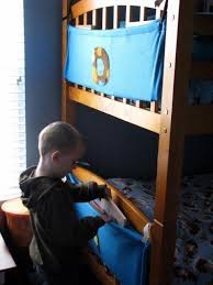 Bunk Bed Storage Caddy Bunk Bed Book Caddy Bunk Bed Tutorials And Sewing Projects