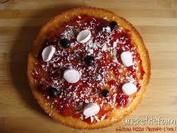 cuisine trompe l oeil gâteau pizza trompe l oeil une faim