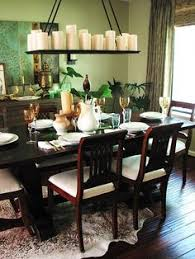 Dining Room Candle Chandelier Diy Candle Chandelier I Real Candles I Could Use Here But I