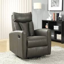 Furry Black Rug Furniture Appealing Furniture Contemporary Recliners For Your