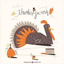 thanksgiving turkey illustration vector premium