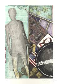 Jasper Johns Three Flags Jasper Johns Born 1930 Essay Heilbrunn Timeline Of Art