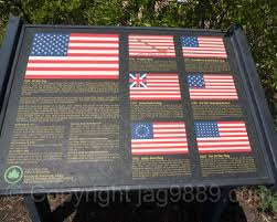 Who Made The Flag American Flag History Display South Beach Boardwalk Stat U2026 Flickr