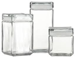 glass kitchen storage canisters stackable glass storage jars modern kitchen canisters glass