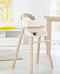 chaise haute b b en bois bebe chaise haute