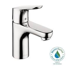 hansgrohe talis s single hole 1 handle mid arc bathroom faucet in