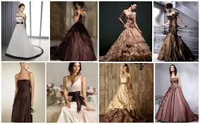 brown wedding dresses brown wedding gown ideas totally awesome wedding ideas