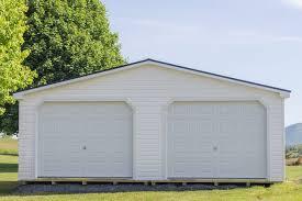 2 car garage 24 24 modular 2 car garage byler barns