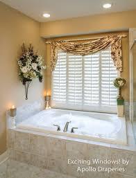 Ideas For Bathroom Window Treatments Bathroom Finding High Bathroom Window Curtains From Home Ideas