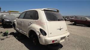 junkyard find 2004 chrysler pt cruiser gt turbo
