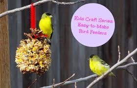 kids craft series 3 easy to make bird feeders fabkids blog