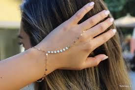bracelet hand chain images Free people gold bracelet chain hand bracelet slave jpg