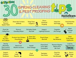 spring cleaning tips 30 days of spring cleaning and pest proofing tips hometeam pest